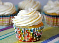 Apricot Lemon Cupcakes - Vegan! #recipes