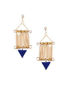 ASOS Tube Triangle Earrings