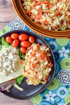Fun Inspired Asian Coleslaw With Cabbage, Carrots, Peanut Butter, Soy Sauce, Rice Vinegar, Sesame Oil, Maple Syrup, Fish Sauce, Ground Cumin, Coriander Powder, Chili Powder, Sesame Seeds