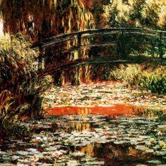 Monet - japanse brug