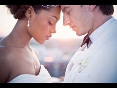 Interracial Love finds this Couple on their Wedding Day