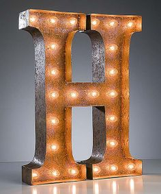 H Vintage Marquee Light
