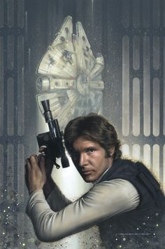 Han Solo by Jerry Vanderstelt