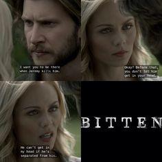 #Bitten   Elena and Clay