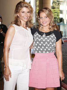 Candace Cameron Bure Calls Lori Loughlin 'Family' amid College Scandal: 'We Stand by Each Other' Dj Full House, Michael Champion, Candance Cameron Bure, Aunt Becky, Dj Tanner, Felicity Huffman, Lori Loughlin, Tv Shows Funny, Fashion Cover