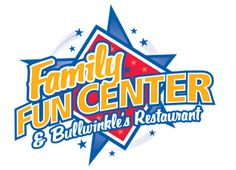 A gift certificate for pizza + miniature golf at Family Fun Center in Edmonds, WA.