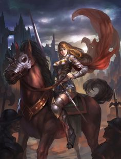 #Baroness #warrior #horsewoman #horseback #noble #woman #warrior #fantasy #fantasyart
