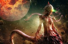 Anime Knights Of Sidonia Wallpaper Knights Of Sidonia, Manga Anime, Anime Art, Les Aliens, Song Artists, Creature Feature, Creature Design, Weird World, Character Illustration