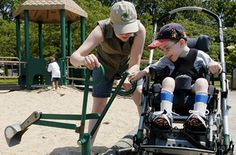 Playgrounds for Kids Who Can't Run and Jump - NYTimes.com