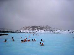 Iceland, Geothermal Pool