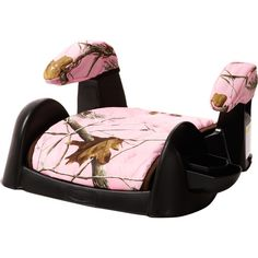 RealTree pink camo booster seat