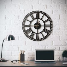 Metallic Arts Premium Double Radial Black Stainless Steel Wall Clock For Home Decoration Metal Wall Decor, Metal Wall Art, Kitchen Wall Clocks, Tabletop Clocks, Metal Clock, Wall Clock Design, Creative Walls, Steel Wall, Black Stainless Steel