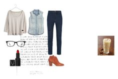 """""""Blues"""" by sassafrass-81 on Polyvore featuring Madewell, NARS Cosmetics, Ray-Ban, women's clothing, women, female, woman, misses and juniors"""