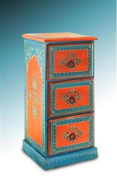 indian painted cupboard jn2 17 indian painted furniture