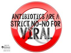 Down with viral fever Do not pop any antibiotic pill. #Antibiotics have no effect whatsoever on viral #infections like common #cold. They are also ineffective against sore throat, which is usually viral and self-resolving #AntibioticAwarenessWeek #RespectforLife Visit RFHospital.Org
