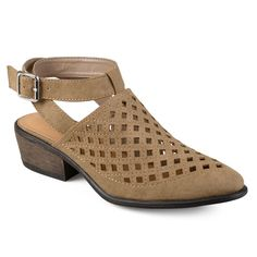 Journee Collection Shilo Women's Wrap Shoes, Size: 8.5, Lt Brown