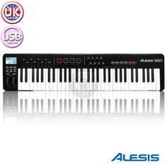 Alesis 61 note Advanced USB MIDI Keyboard Synth Controller Recording Studio from Electromarket.co.uk