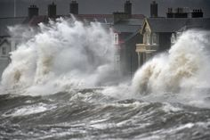 Northern Ireland hit by storm