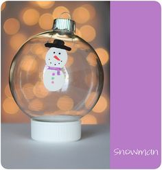 thumbprint Christmas ornaments