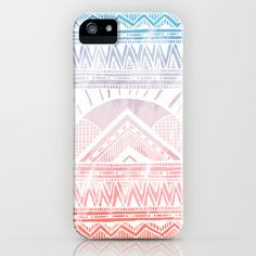 Surf Morning iPhone & iPod Case by Jewelwing - $35.00