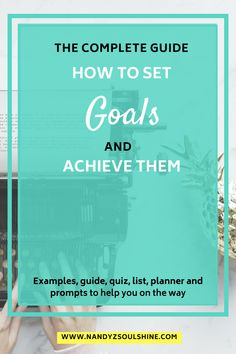 Crush your goals without overwhelm. The complete guide on how to set goals and achieve them. Get examples, tips, list and a quiz to know your focus area and create goals - life goals, personla goals, professional goals, New years goals - any kind of goal. There's also a guide, planner and prompts to help you turn your goals into action plan and actually achieving them. #GoalSetting #goalsforlife #Goals #Habits #AchieveYourGoals #motivation