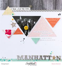"American Crafts Shimelle ""Mighty Manhattan"" von Maren Becker"