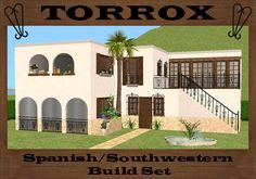 Mod The Sims - Torrox Spanish/Southwestern Build Set Part 1 - Master Objects