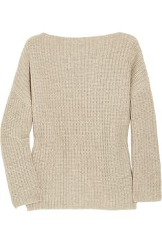 VINCE  Chunky-knit wool-blend sweater