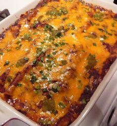 Easy Homemade Beef Enchiladas with Homemade Enchilada Sauce