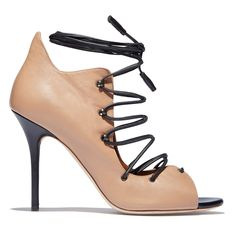 Malone Souliers Savannah Lace Up Open Toe Pump - Goop