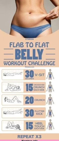 15-Minute Flab To Flat Belly Workout Challenge #fat #belly #fitness #flat #workout #beauty