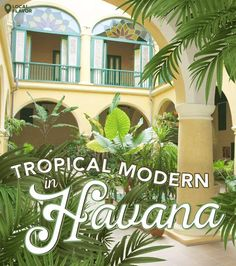 Tropical Modern In Havana   dotandbo.com