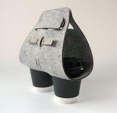 Objectify Tota Coffee Cup Carrier de Vanilla Design Store sur DaWanda.com