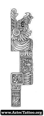 Aztec Tattoos Quetzalcoatl 10 - http://aztectattoo.org/aztec-tattoos-quetzalcoatl-10/