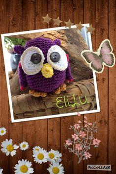 Eulen bei:  www.facebook.com/Elilu.by.Eva.Dobbek