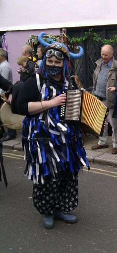 Steampunk Morris Dancer!