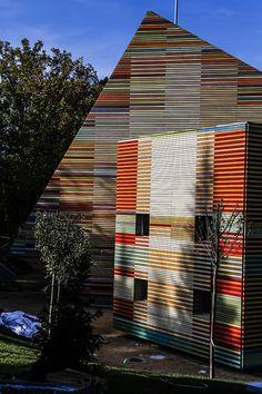 Renzo Piano Building Workshop - Auditorium del Parco - L'Aquila 2012