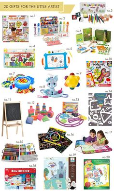 20-Gifts-for-the-LIttle-Artist