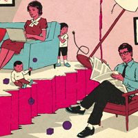 """Article -- """"Do Kids Cause Divorce?""""  What parenting magazines don't cover..."""