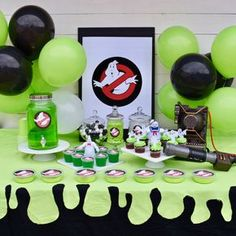 As a toddler of the watching the Ghostbusters films are a should do on our Halloween listing yearly. I've thought of doing a Ghostbusters celebration for Ghostbusters Birthday Party, Ghostbusters Theme, 6th Birthday Parties, Birthday Fun, Birthday Ideas, Party Ideas, Party Party, Party Favors, Diy Ideas