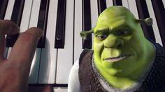 Hallelujah / Shrek / Piano / Tutorial / Cover / Notas Musicales