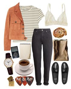 """""""Sans titre #175"""" by miss-crumble on Polyvore featuring mode, Monki, MANGO, H&M, Lonely, FitFlop, Frédérique Constant, In God We Trust et Rosenthal"""