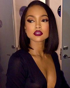 "1,575 Likes, 19 Comments - RPGSHOW.COM (@rpgshowwig) on Instagram: ""‪#‎makeup‬ ‪#‎inspiration‬  @karrueche looks so good with this bob! ✨ Her makeup by…"""