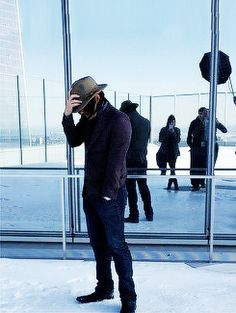 Norman Reedus nos bastidores de seu cover shoot Downtown Revista NYC / Norman Reedus behind the scenes of his Downtown Magazine NYC cover shoot