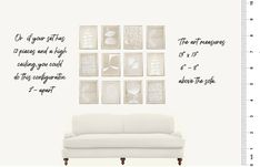 How To Hang Art – Little Known Ways + Mistakes to Avoid Big Blank Wall, Blank Walls, Beautiful Houses Interior, Hanging Art, Wall Spaces, Custom Art, Mistakes, Wall Decor, Interior Design
