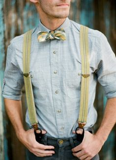 Pat could pull this off!  Style Snapshot: Teal Taps a Bow & Straps - Lover.ly