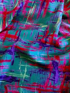 Vintage Silk Twill, 1970's. Available at Charlotte Bialas. www.charlottebialas.com  5 Rue Debelleyme, 75003 Paris