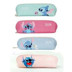 so Cute Stitch PU Faux Leather Pencil Case Pen Bag Organizer Lilo&stitch for sale online Lilo Stitch, Stitch Disney, Cute Stitch, Stitch Toy, Stitch Et Angel, Lelo And Stich, Leather Pencil Case, Accesorios Casual, Accessoires Iphone