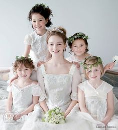 Pretty fairy tale princess style ball gown wedding dresses from Japan-based Takami Bridal Royal Wedding 2012