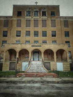 Nazareth Hospital (abandoned), Mineral Wells, Texas